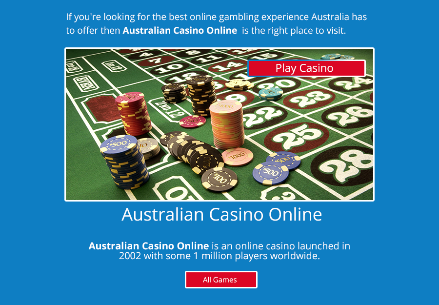 top rated australian online casinos